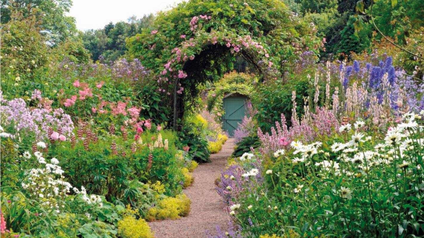 Carolside house gardens gallery for Garden design ideas scotland